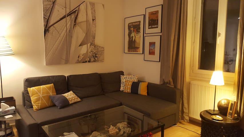 Agréable duplex proche Canclaux /Zola