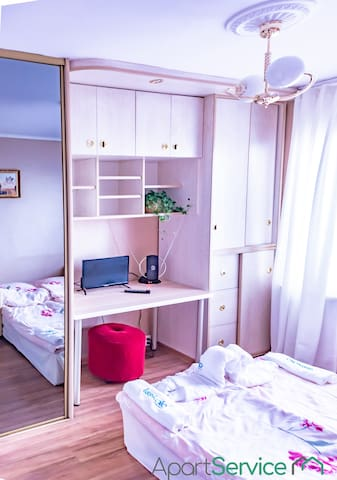 Retro Rooms in Cracow City Centre by Apart Service