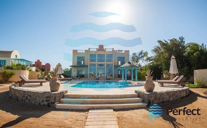 Stunning Golf Villa in El Gouna Heated Pool