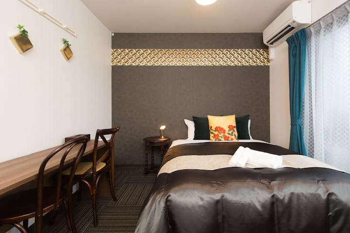 New Open! Japanese style Inn!Double Room with WIFI
