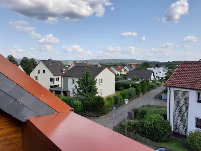 Dachwohnung mit Dachterrasse, zentral und ruhig