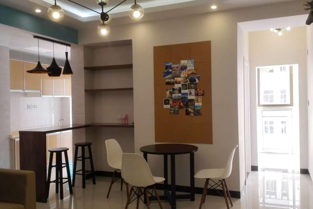 餐厅和吧台