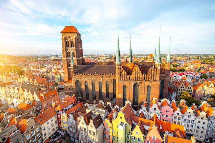 Widok Gdańska