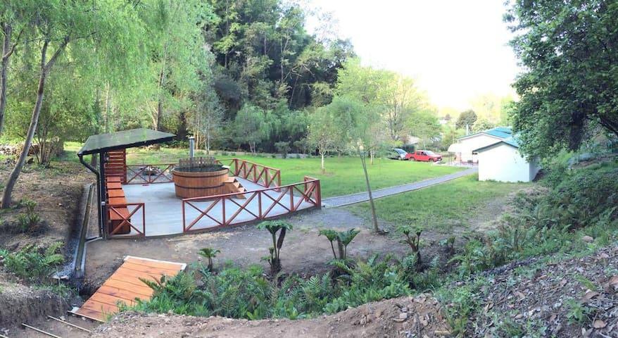 Tranquilidad y naturaleza a minutos de Concepción - Hualqui - Houten huisje