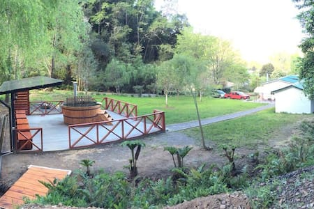Tranquilidad y naturaleza a minutos de Concepción - Hualqui - Cottage