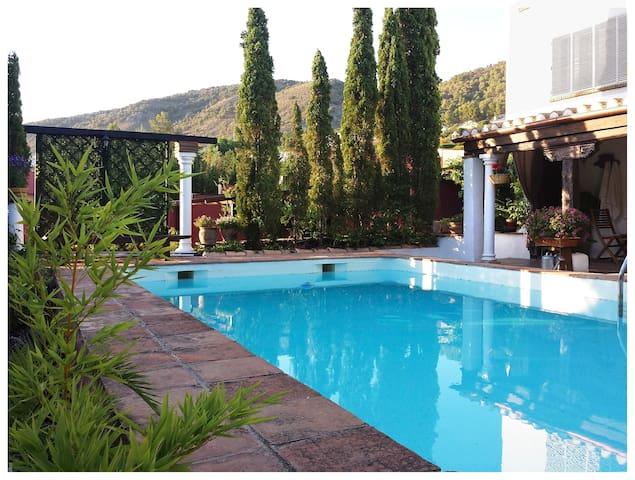 Loft de diseño en villa andaluza con piscina - Padul - Vindsvåning