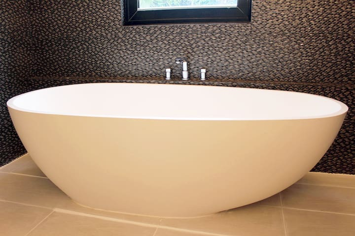 Bathroom A - big free standing tub