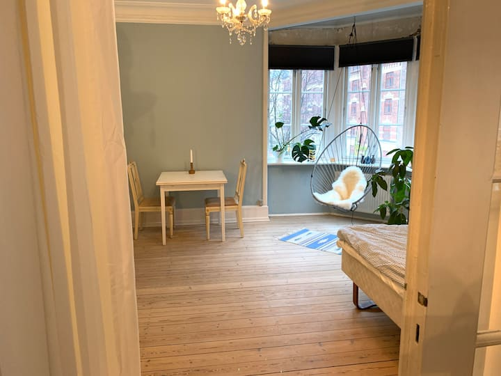 Large and cozy room in gorgeous Nørrebro apartment