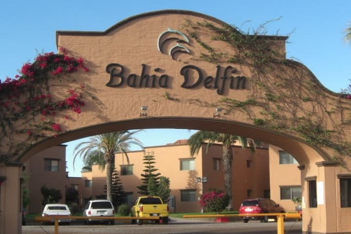 Pool Side Bahia Delfin 1st floor Condo - Guaymas - Kondominium