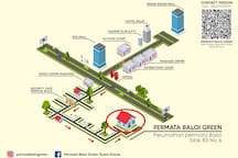 Permata Baloi Green 102 Pool access,Near BCS Mall