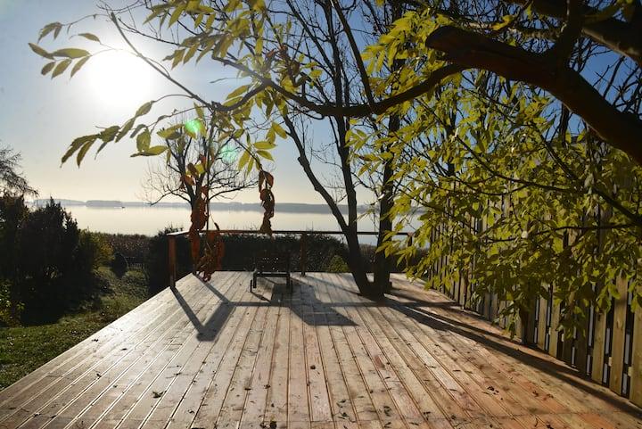 Seeblick Cottage Insel Usedom
