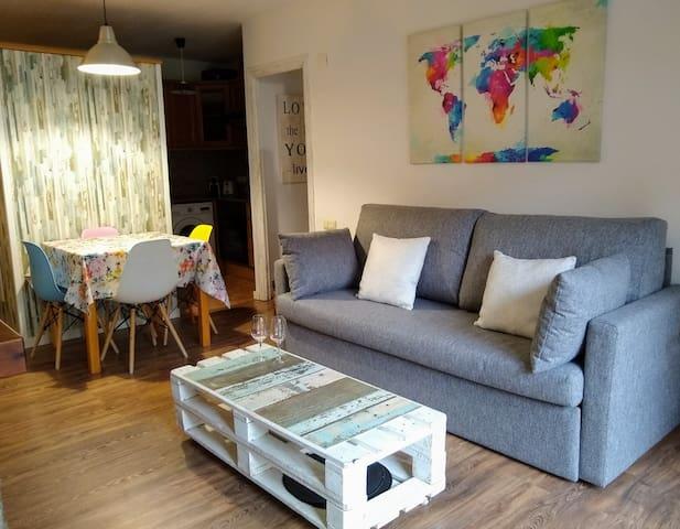Apartamento con encanto en el centro de Benasque