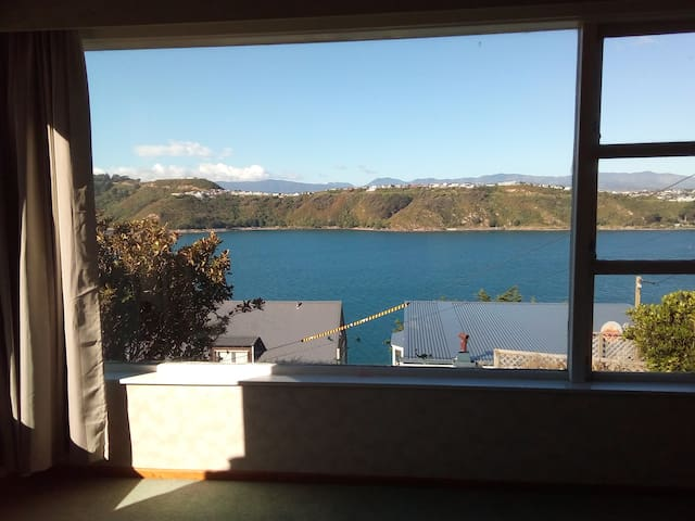 Excellent sea-view house at Hataitai