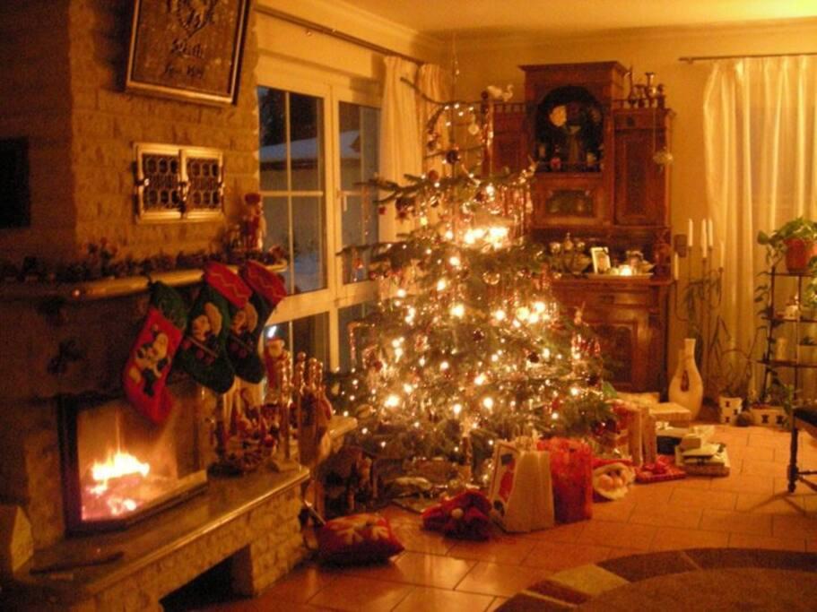 Weihnachtsstimmung mit Innenkamin