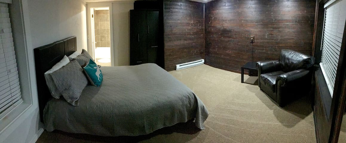 Downtown room and bath with private entrance - McCall - Autre