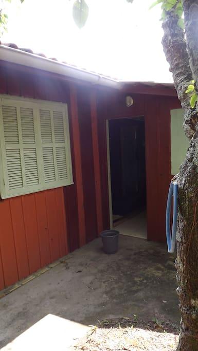 local de entrada da casa