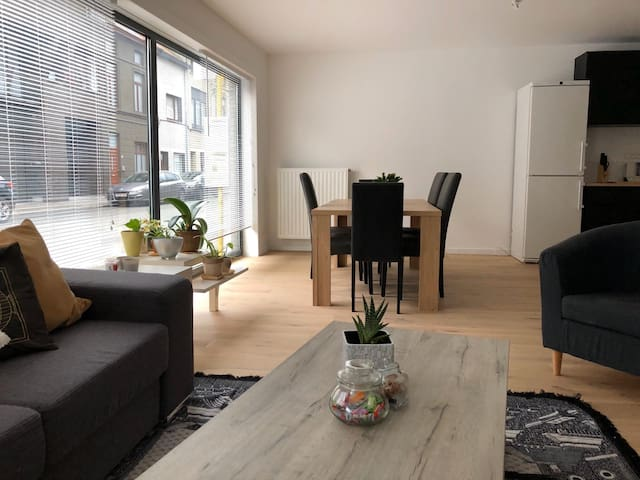 Spacious and modern apartment in Ghent city center