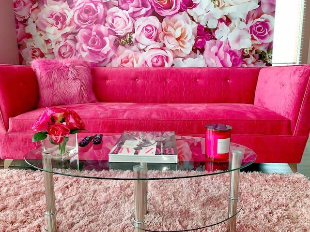 My Beautiful Pink Buckhead Garden