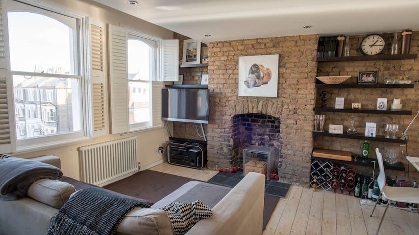 Stunning flat with roof terrace - Лондон - Квартира