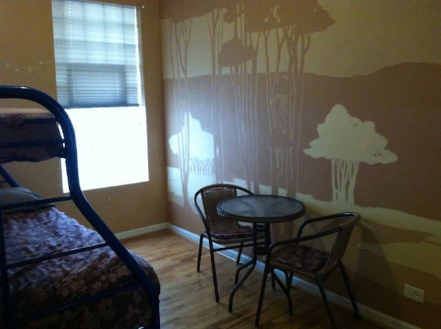 Private room near Airport/Downtown - Chicago - Apartment