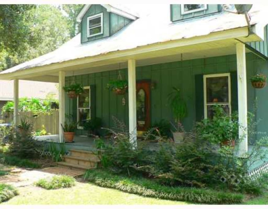 Acadian cottage case in affitto a covington louisiana for Piani casa cottage acadian