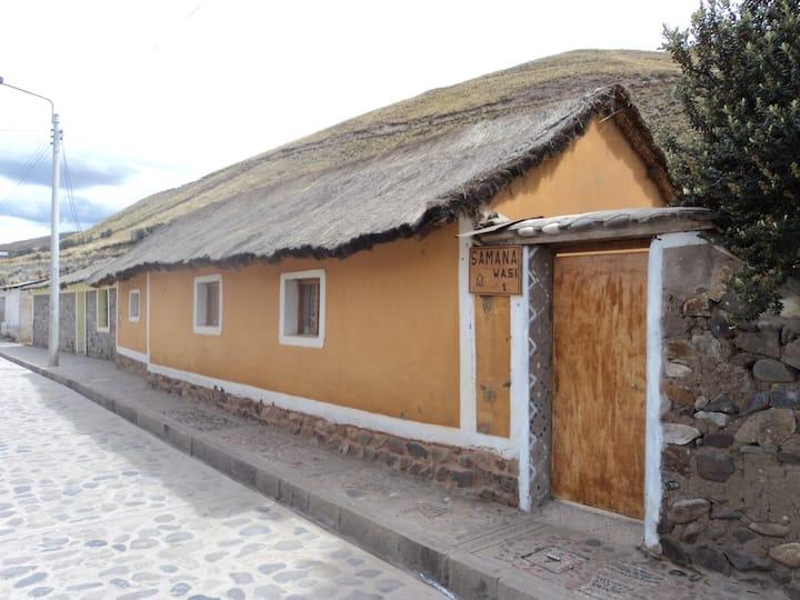 CASA VIVENCIAL SAMANA WASI SIBAYO - COLCA