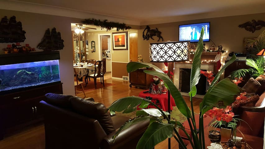 Cozy 3-5 BR Home Cleveland Hgts... Can Sleep 15+ - Cleveland Heights