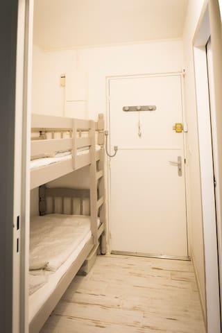 Entrée et Espace nuit lit superposés