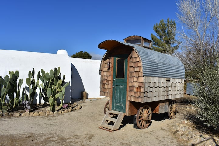 Sheepherder Wagon at Blue Sky Center
