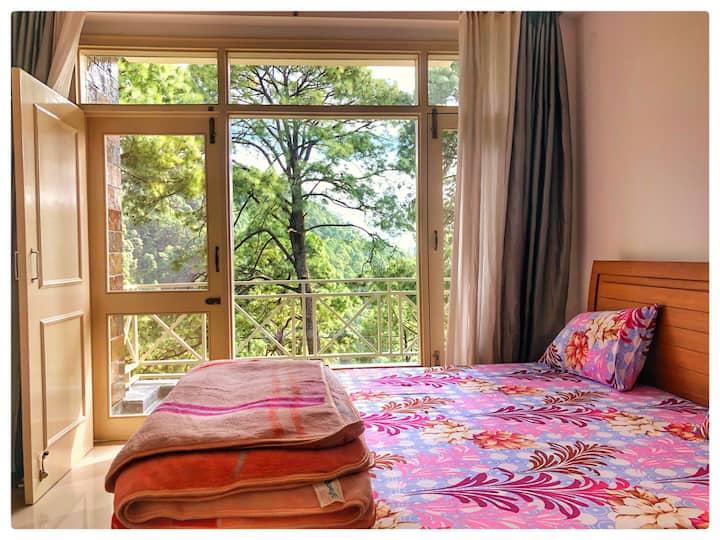 Beautiful 1 bedroom close to Nainital Bhimtal FF3