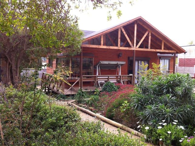 Acogedora cabaña en Papudo para arriendo de verano