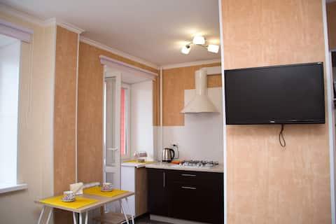 Светлая  квартира-студия SMART на Княжьем поле
