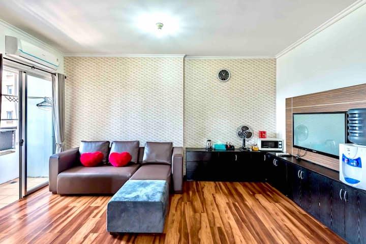 3BR Big&Cozy Entire Apartment 5min walk from Ancol