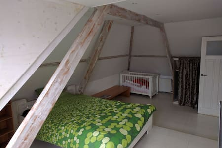Spacious room, 30 mins bus to Amsterdam central - Oostzaan - House