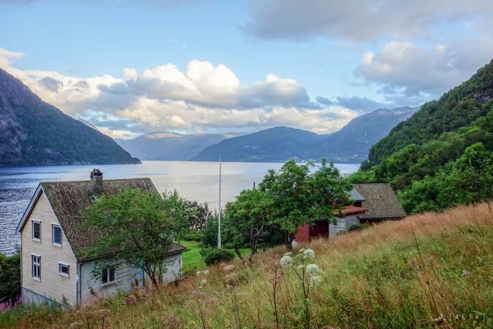 Solbakken by Hardanger Fjord (room 1)