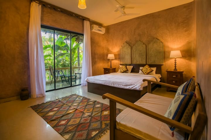 Sahasrara - A luxury Wellness Suite @ Morjim Beach - Morjim