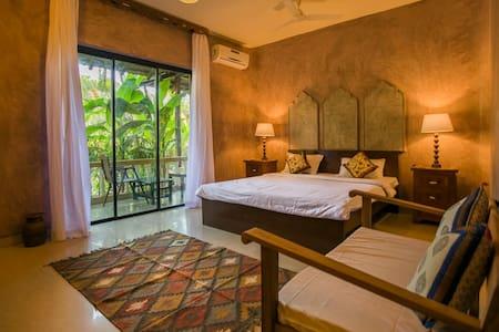 Sahasrara - A luxury Wellness Suite @ Morjim Beach - 莫爾吉姆(Morjim) - 精品飯店