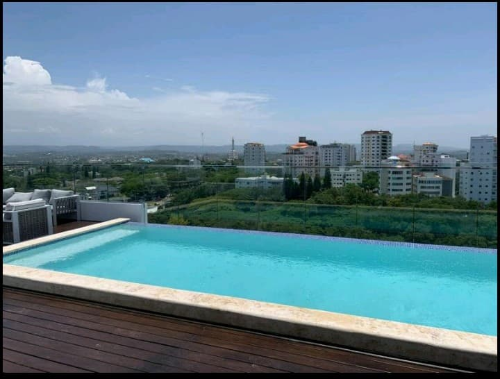Apartment with infinity pool and gym in soha II