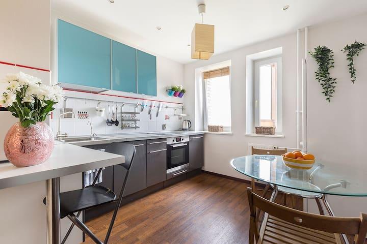 Comfortable Apartment on Butlerova, 35m²