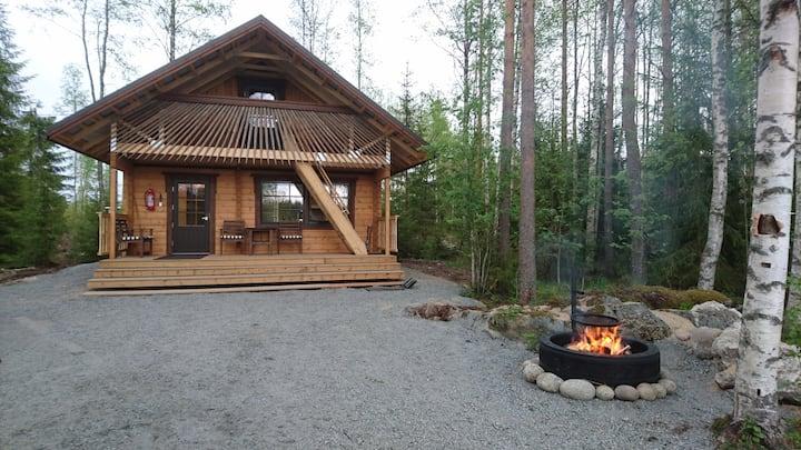 Mantantupa log cabin, Maatilamatkailu Ilomäki