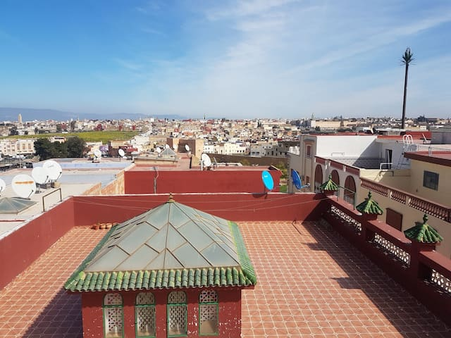 Your Pretty Room in Meknes - Meknès - Bed & Breakfast