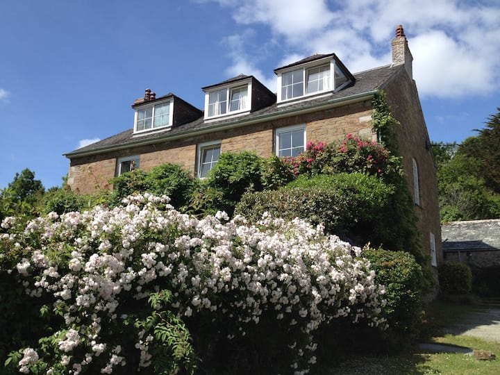Historic House on the Coastal Footpath near Looe