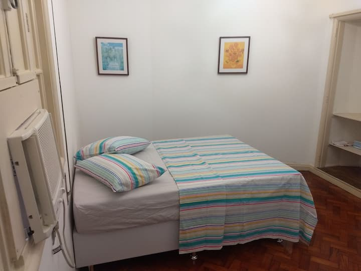 Loft no centro do Rio com privacidade e conforto