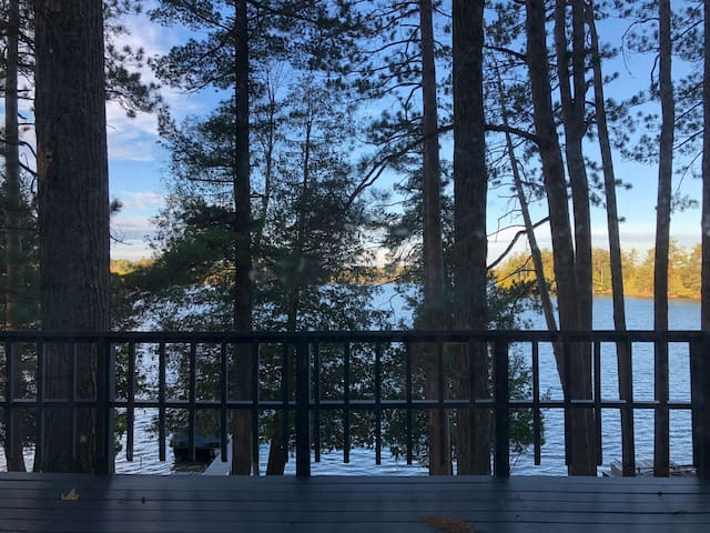 Peaceful fall retreat!  Clear Lake in West Branch!