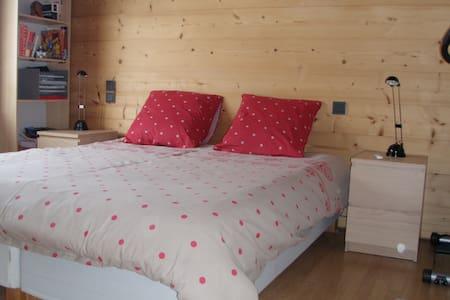 Chambre pour deux personnes - Saint-Jean-de-Sixt