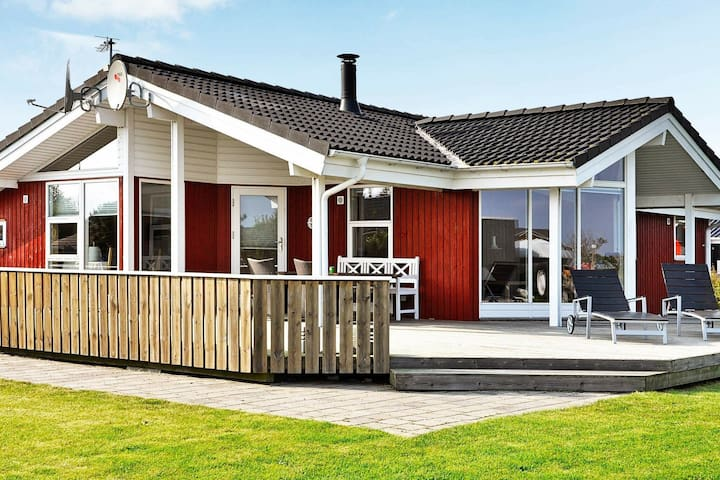 Spacious Holiday Home in Juelsminde with Terrace
