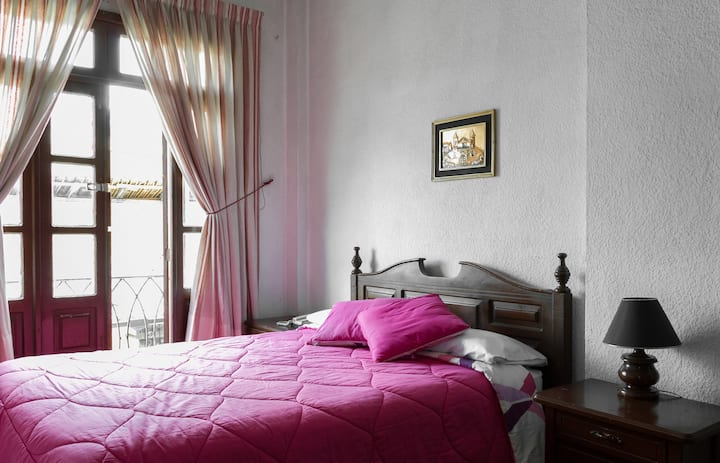 Single room in the center of Quito.