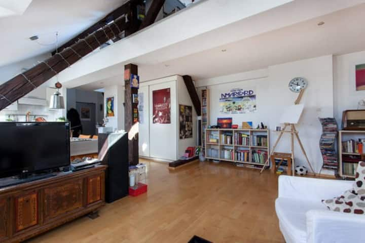 Warm Student Loft in Old CityCentre