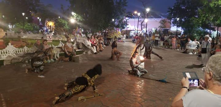 Valladolid representación Mayas
