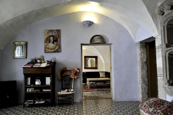 Habitación de dos camas en Casa Rural La Cantarera